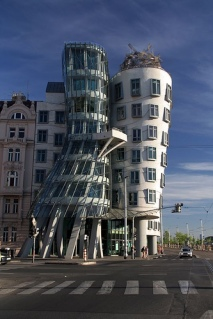 The Dancing Building. Prague