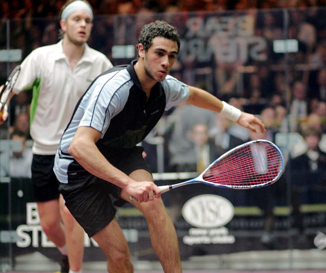 Ramy Ashour and James Wilstrop
